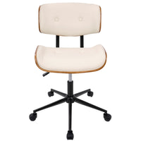 Lombardi Office Chair - Cream
