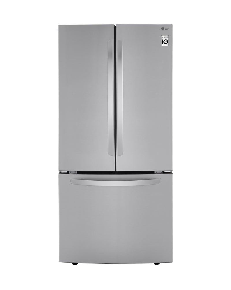 Lg Stainless Steel French Door Refrigerator 25 1 Cu Ft
