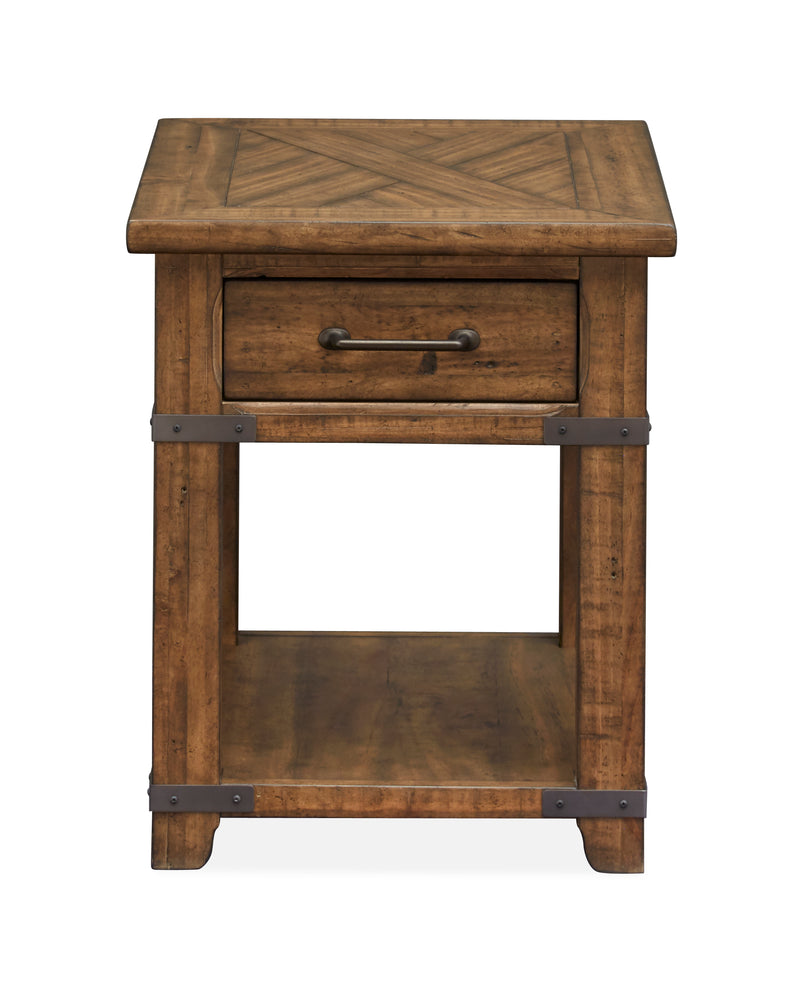 Chesterfield End Table - Natural Pine