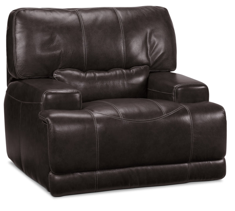 Dearborn Power Recliner - Blackberry