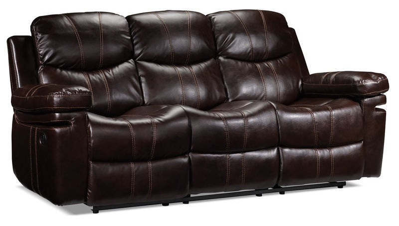 Barcelona II Reclining Sofa - Dark Brown