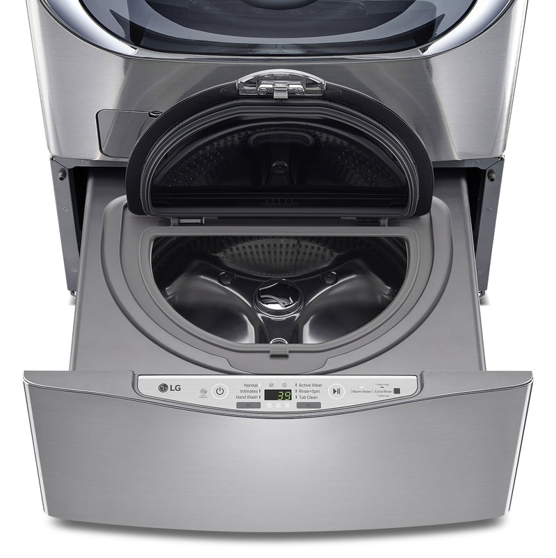 LG Appliances Graphite Steel Sidekick™ Pedestal Washer (1.1 Cu. Ft.) - WD100CV
