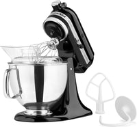 KitchenAid Onyx Black 5-Quart Tilt-Head Stand Mixer - KSM150PSOB