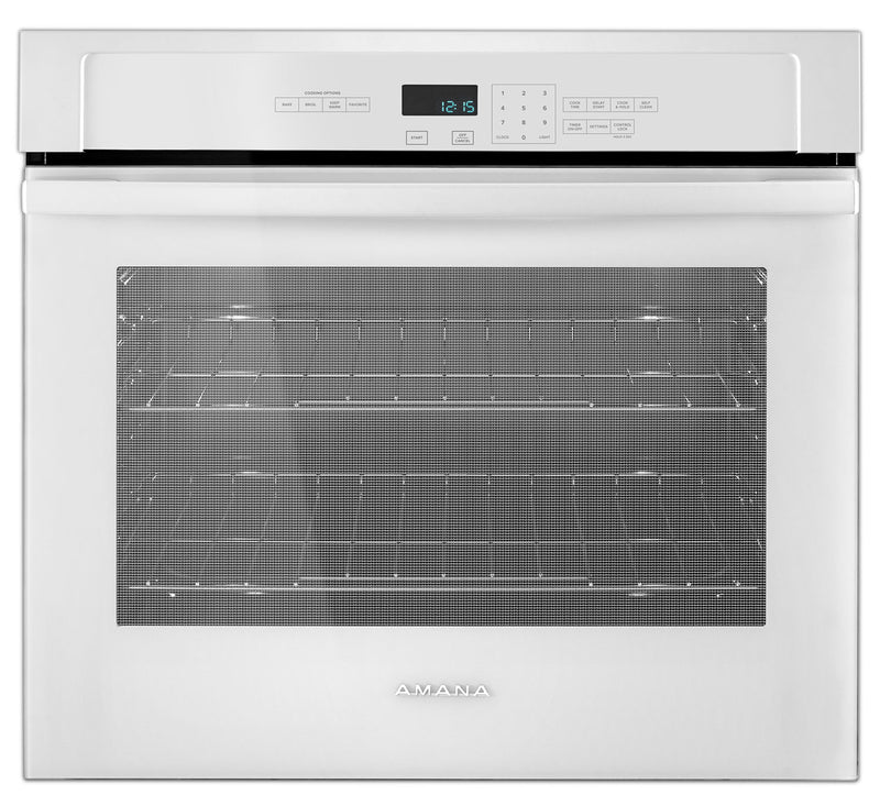 Amana White Electric Wall Oven (4.3 Cu. Ft.) - AWO6317SFW