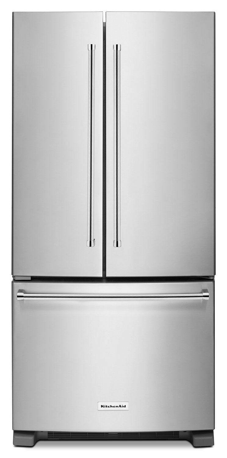 KitchenAid Stainless Steel French Door Refrigerator (22.1 Cu. Ft.) - KRFF302ESS