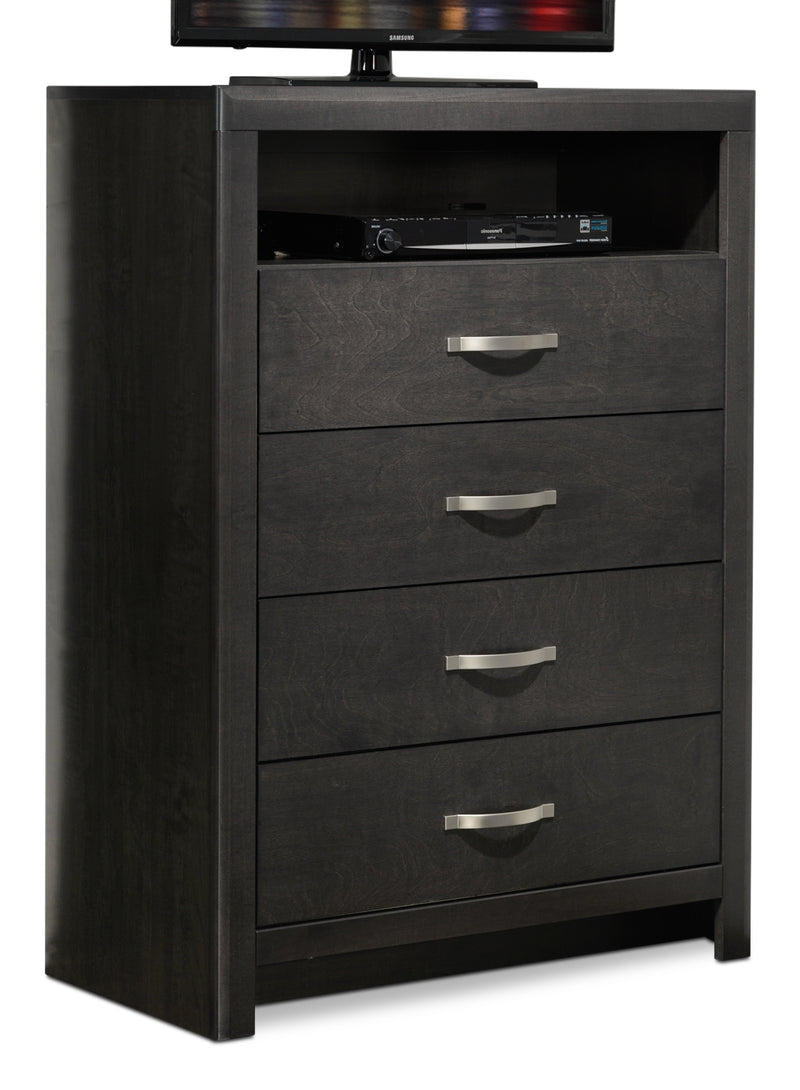 Dessy Media Chest - Charcoal