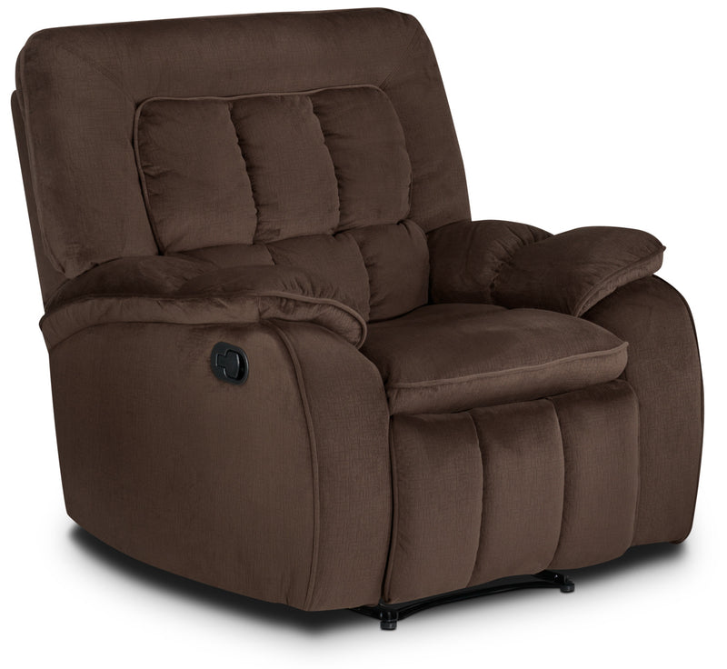 Wisconsin Recliner - Dark Brown