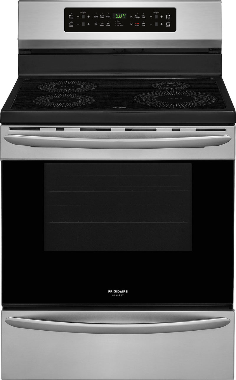 Frigidaire Gallery Stainless Steel Freestanding Electric Induction Range (5.4 Cu. Ft.) - CGIF3036TF