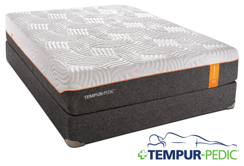 Tempur-Pedic Devote Firm Twin XL Mattress and Boxspring Set