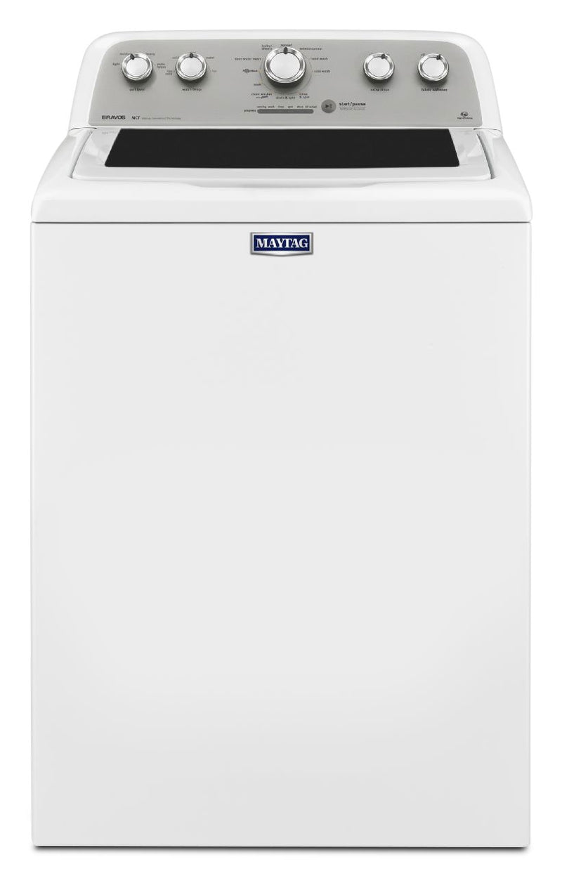 Maytag White Top-Load Washer (5.0 Cu. Ft. IEC) - MVWX655DW