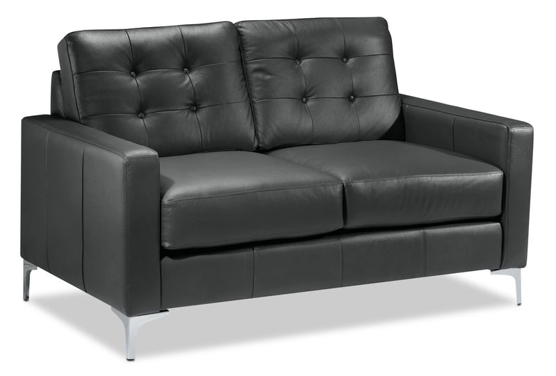 Draven Loveseat - Dark Grey