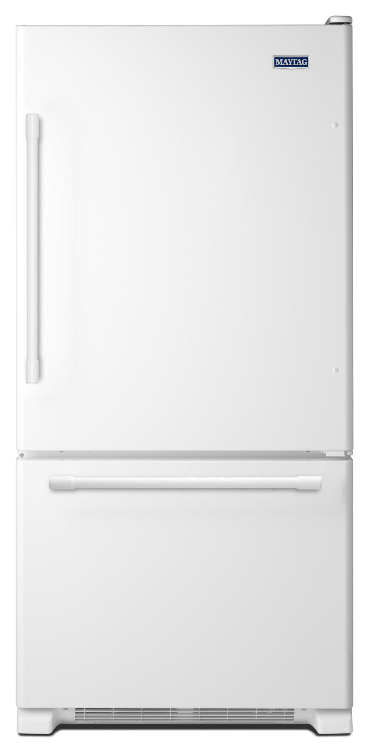 Maytag White Ice Bottom-Freezer Refrigerator (18.6 Cu. Ft.) - MBB1957FEW