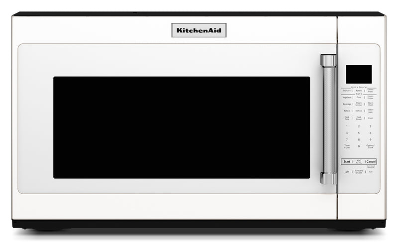 KitchenAid White Over-the-Range Microwave (2.0 Cu. Ft.) - YKMHS120EW