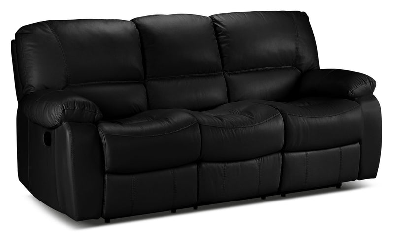Piermont Reclining Sofa - Black