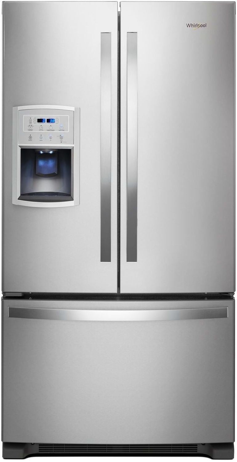 Whirlpool Stainless Steel French Door Refrigerator (20 Cu. Ft.) - WRF550CDHZ