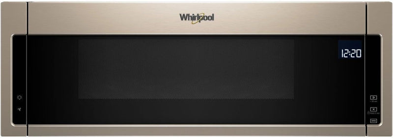 Whirlpool Sunset Bronze Over-the-Range Microwave and Hood Combination (1.1 Cu. Ft.) - YWML75011HN