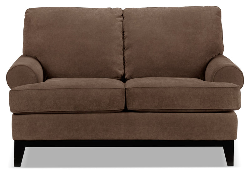 Crizia Loveseat - Coffee