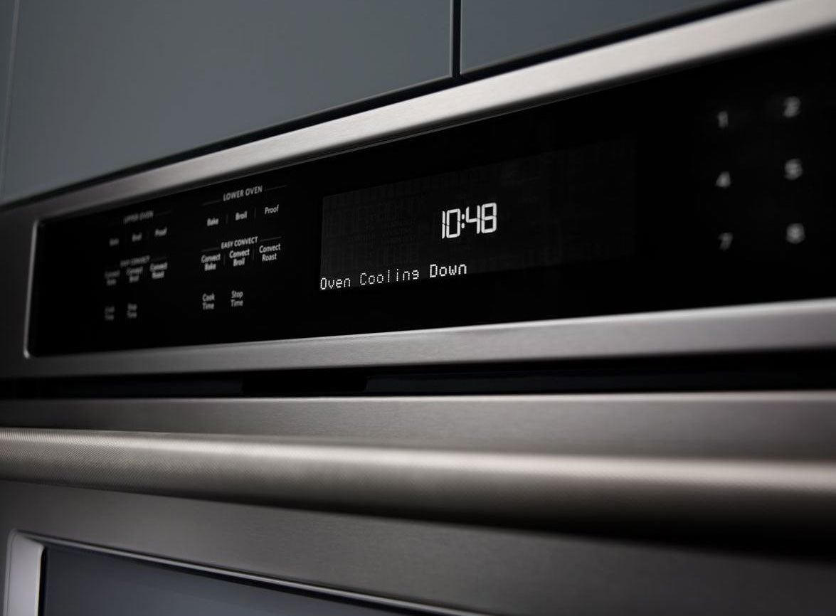 Kitchenaid Stainless Steel Double Wall Oven 10 Cu Ft