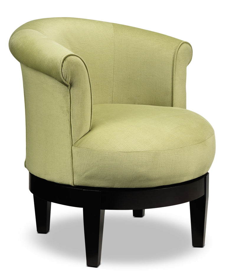 Attica Accent Swivel Chair - Lime