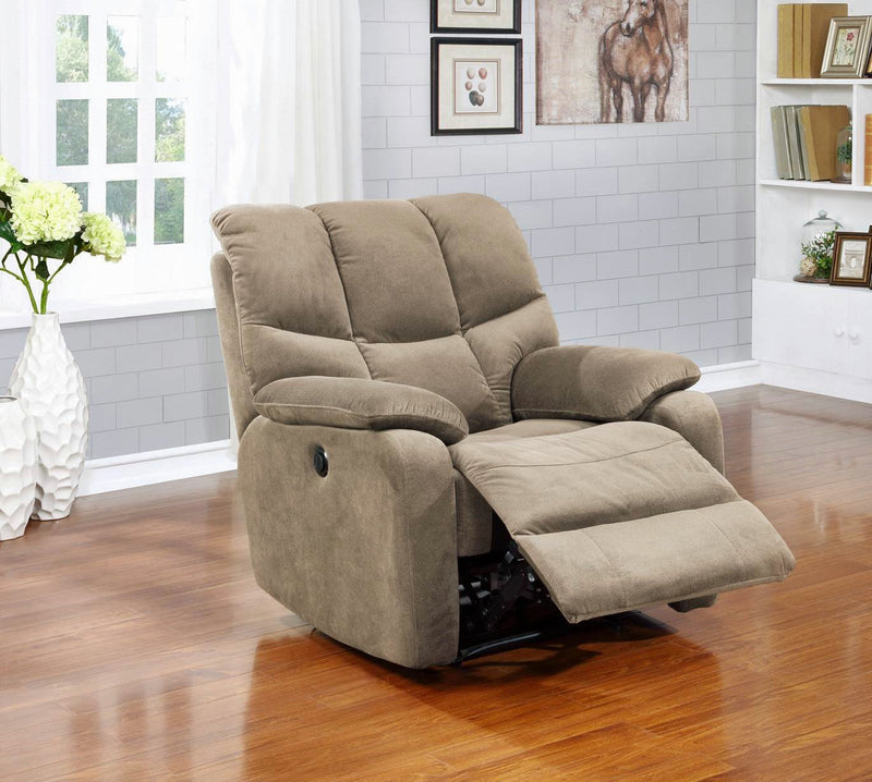 Jerry Power Recliner - Beige