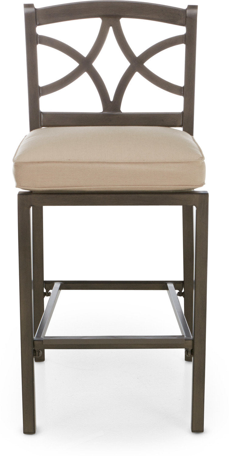 Davenport Bar Stool - Brown and Beige