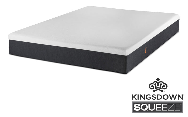 "Kingsdown Squeeze Full 10"" Mattress-in-a-Box"