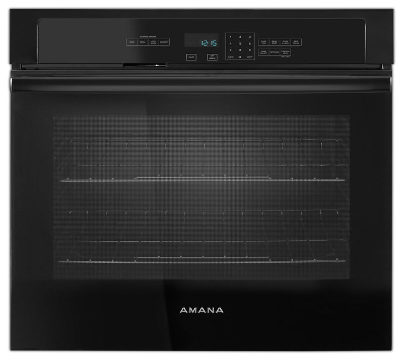 Amana Black Electric Wall Oven (4.3 Cu. Ft.) - AWO6317SFB