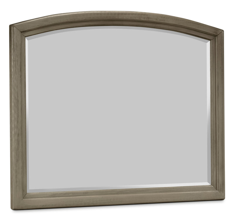 Antigo Mirror - Wire-Brushed Grey