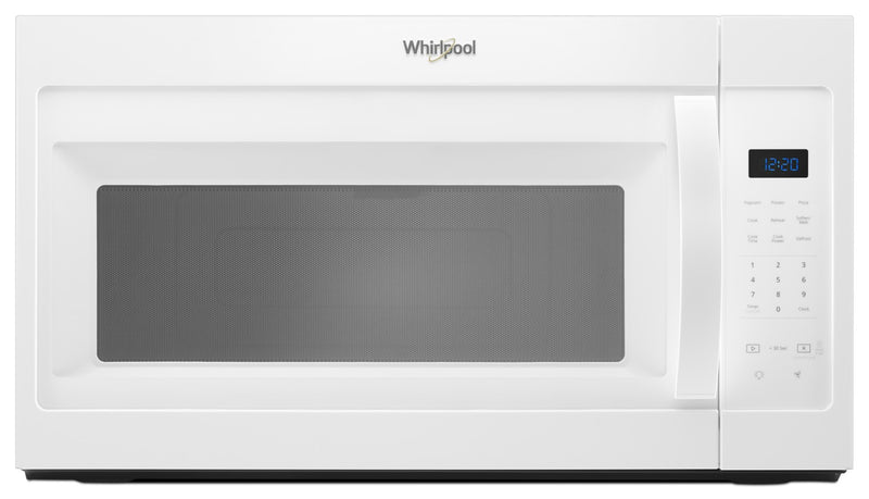 Whirlpool White Over-the-Range Microwave (1.7 Cu. Ft.) - YWMH31017HW