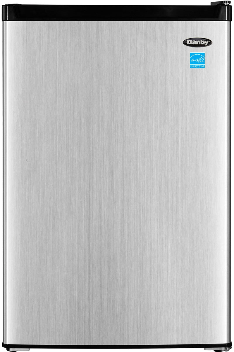 Danby Stainless Steel Compact Refrigerator (4.5 Cu. Ft.) - DCR045B1BSLDB-3