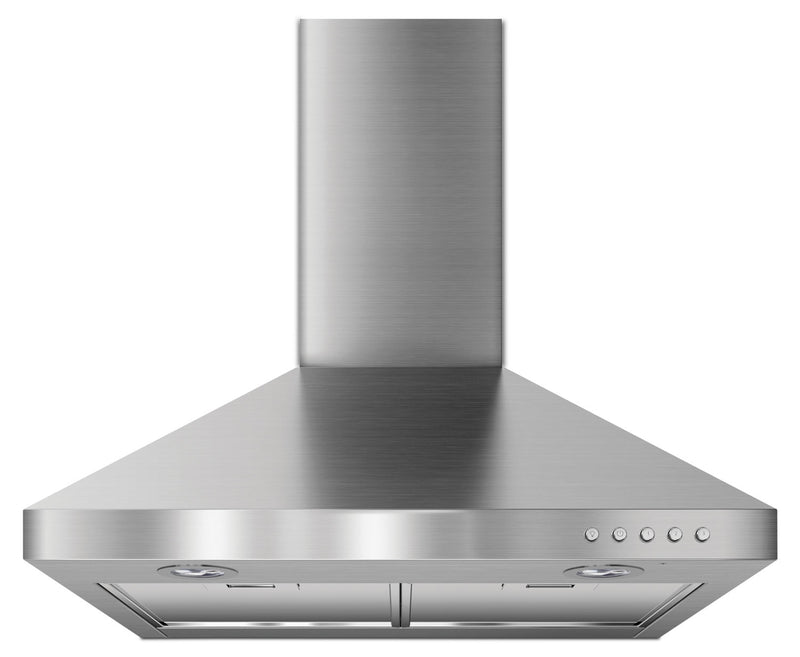 "KitchenAid Stainless Steel 24"" 300 CFM Canopy Wall-Mount Range Hood - UXW7324BSS"