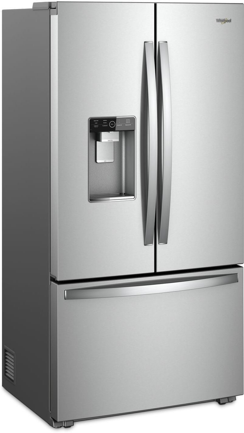 Whirlpool Stainless Steel Counter Depth French Door Refrigerator 24