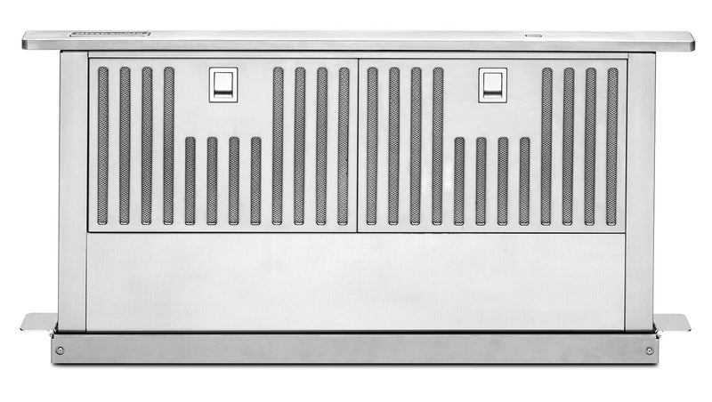 "KitchenAid Stainless Steel 30"" 600 CFM Retractable Downdraft Vent - KXD4630YSS"