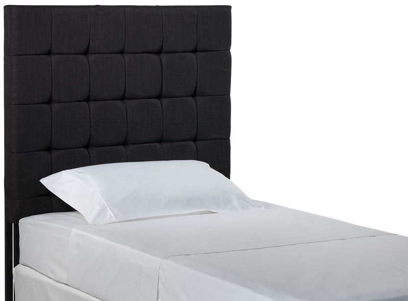 Galvin Twin Headboard - Charcoal
