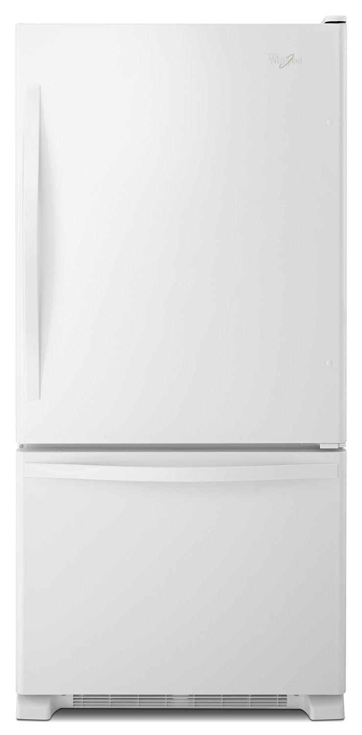 Whirlpool White Bottom-Freezer Refrigerator (18.4 Cu. Ft.) - WRB329DFBW