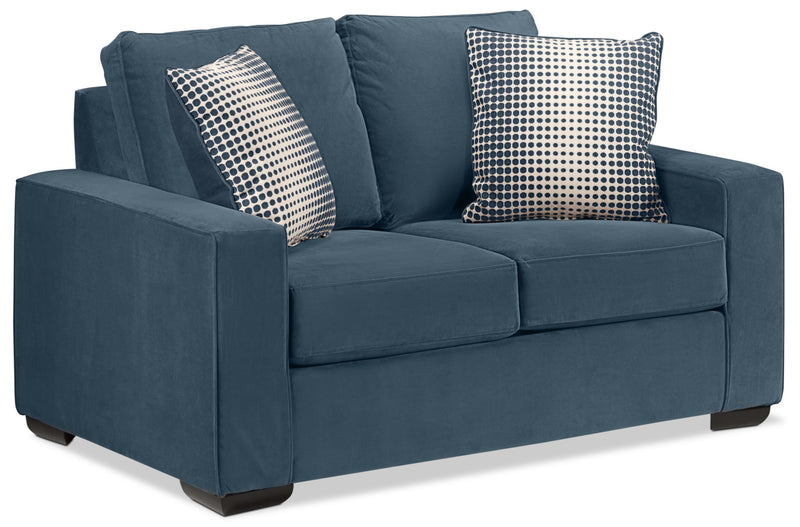 The Ciara Loveseat - Navy