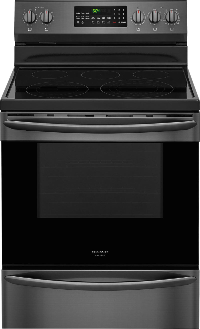 Frigidaire Gallery Black Stainless Steel Freestanding Electric Range (5.7 Cu. Ft.) - CGEF3059TD