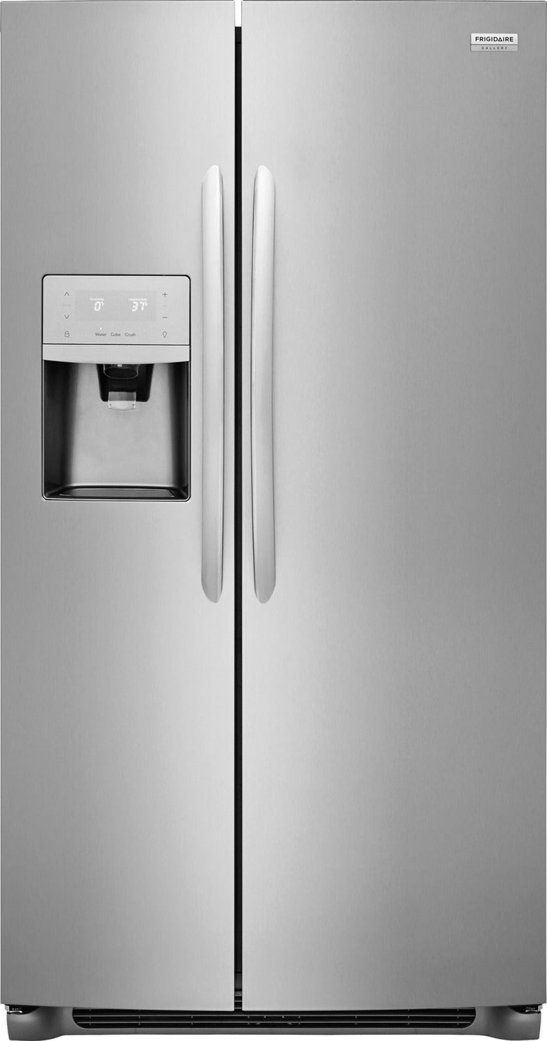 Frigidaire Gallery Stainless Steel Side-by-Side Refrigerator (25.5 Cu. Ft.) - FGSS2635TF