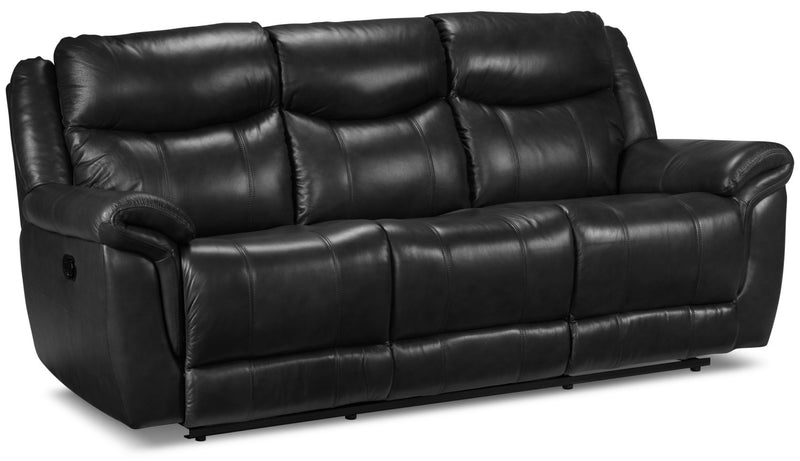 Triste Reclining Sofa - Black