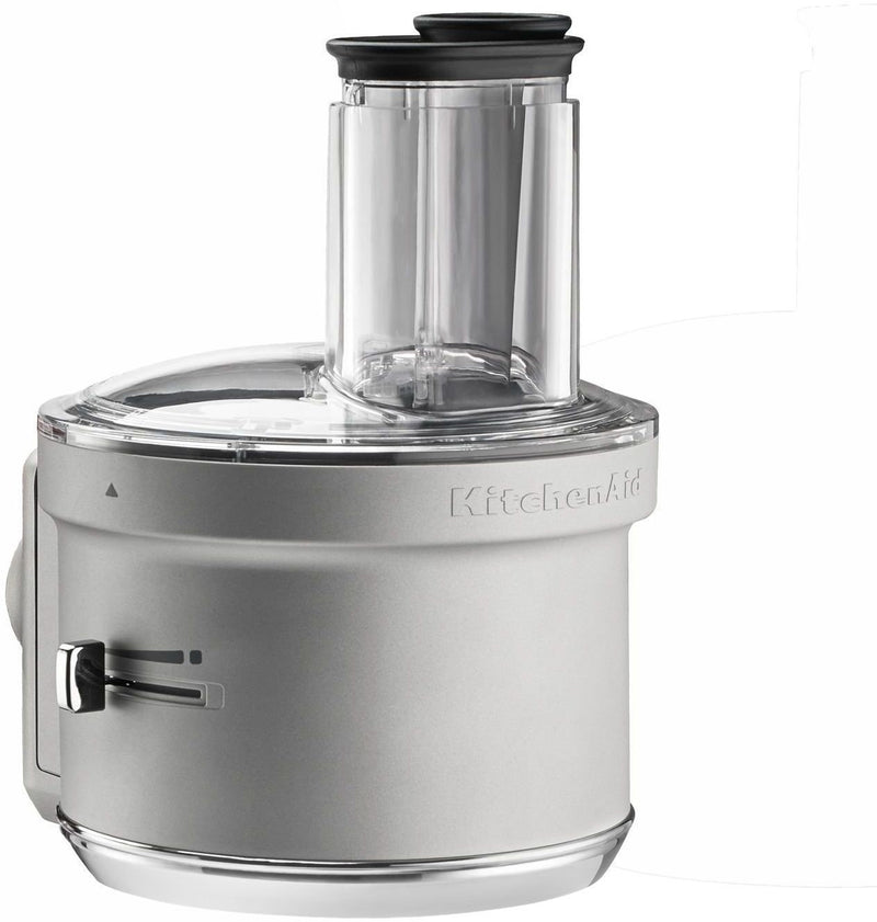 KitchenAid Grey Food Processor with Commercial-Style Dicing Kit - KSM2FPA