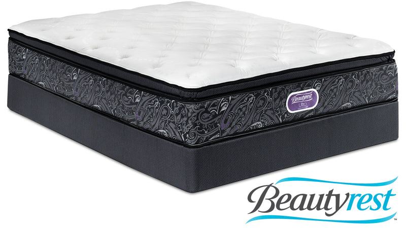 Simmons Beautyrest Ultra Silvia Firm Twin Mattress and Boxspring Set