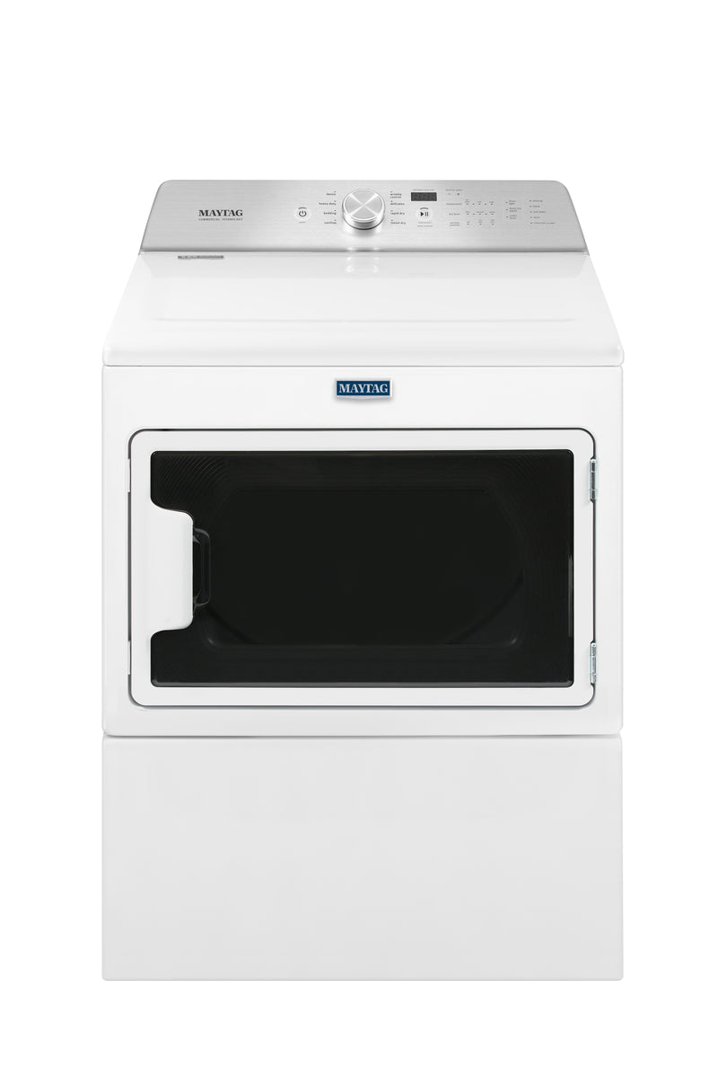Maytag White Electric Dryer (7.4 Cu. Ft.) - YMEDB765FW
