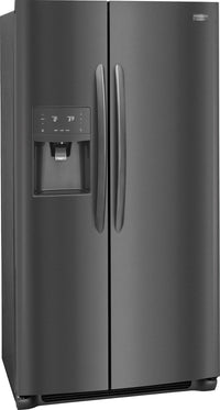 Frigidaire Gallery Black Stainless Steel Counter-Depth Refrigerator (22.2 Cu. Ft.) - FGSC2335TD