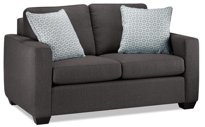 Hilary Loveseat - Charcoal