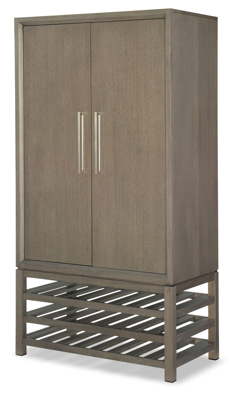 Rachael Ray Highline Bar Cabinet - Greige