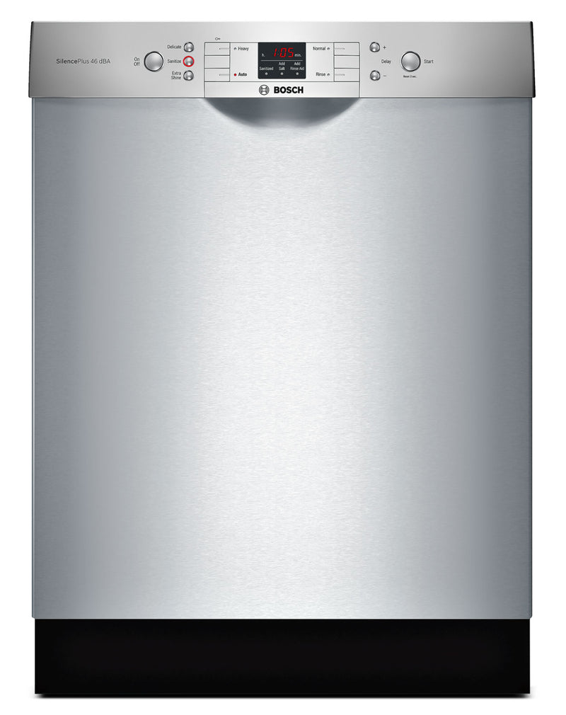 "Bosch Stainless Steel 24"" Dishwasher - 	SGE53U55UC"