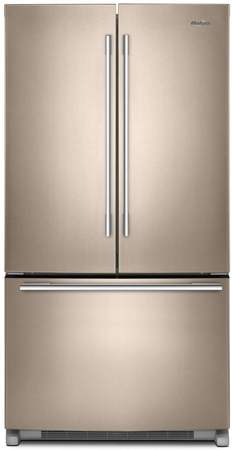 Whirlpool Sunset Bronze French Door Refrigerator 25 Cu
