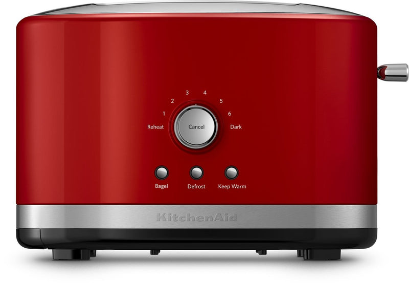 KitchenAid Empire Red 2-Slice Toaster with High-Lift Lever - KMT2116ER