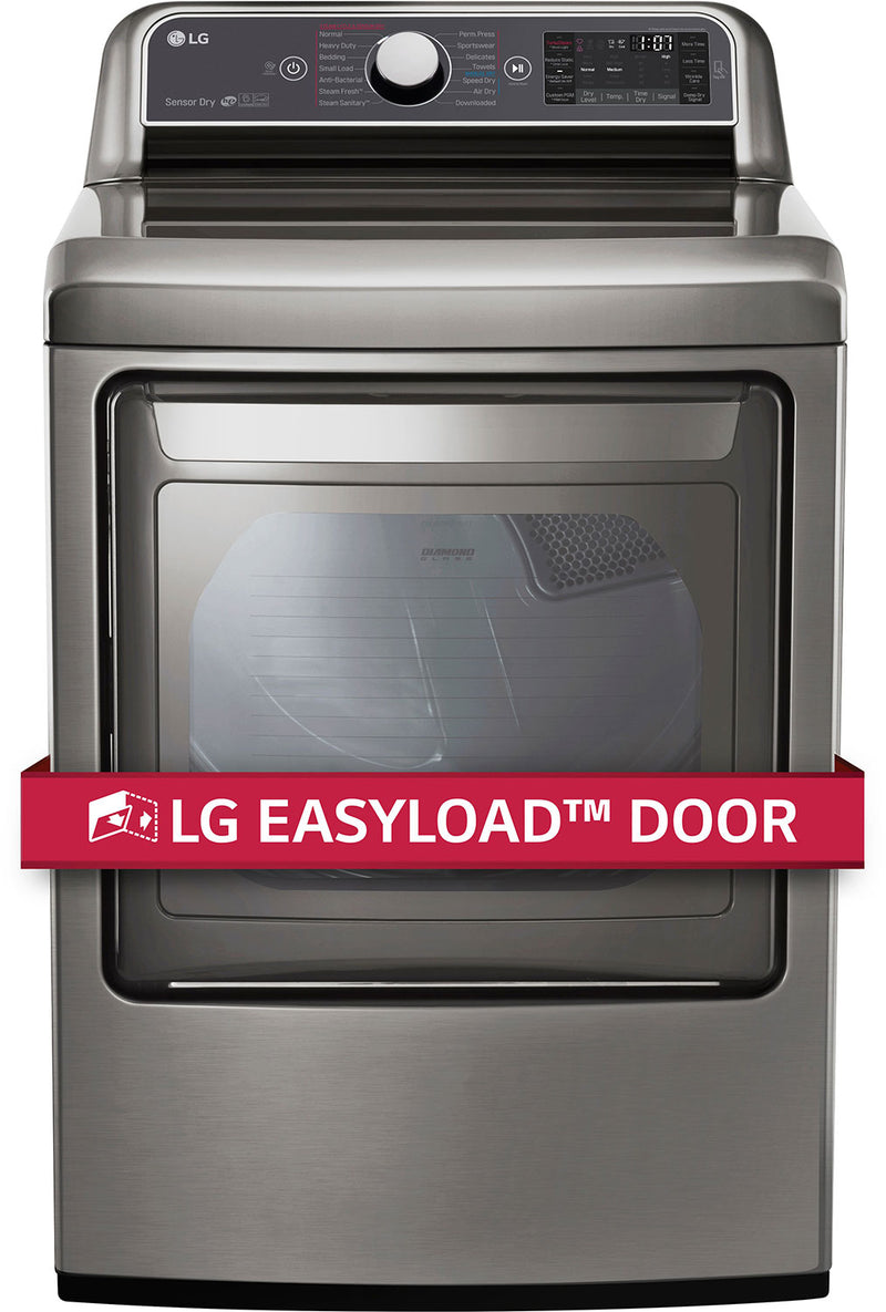 LG Appliances Graphite Steel Electric Dryer (7.3 Cu. Ft.) - DLEX7600VE