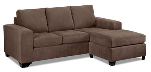 Fava Chaise Sofa - Light Brown